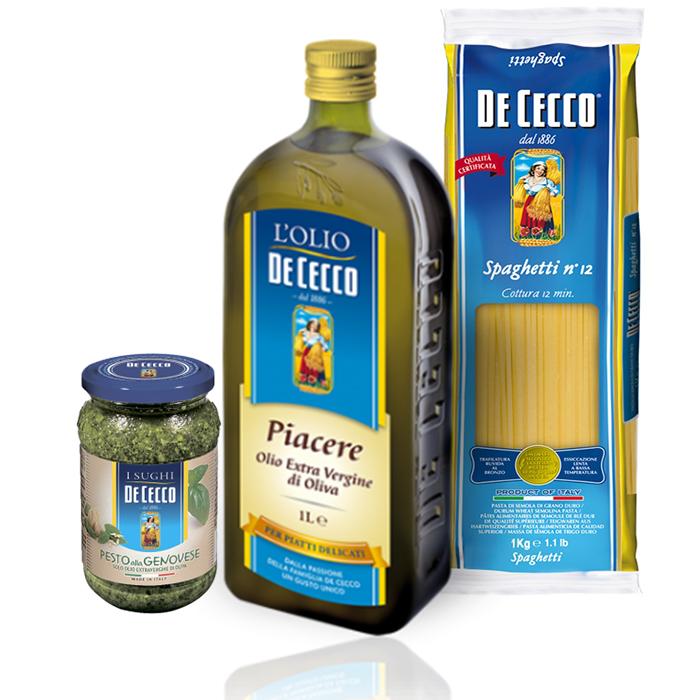 spagetti pesto oliva